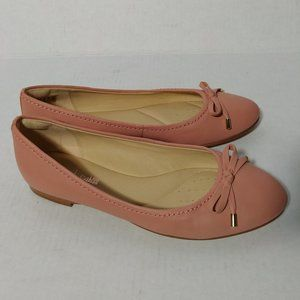 Clarks Grace Lillly Pink Leather 8.5 Cushioned New